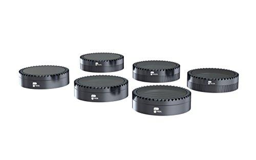 PolarPro Standard Series Filter 6-Pack Neutral Density and Polarizer Filter Set for DJI Mavic Air