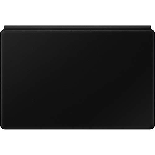 Samsung Book Cover Keyboard EF-DT970 - Clavier et étui - avec pavé Tactile - POGO pin - Noir - Revêtement anti-microbien - pour Galaxy Tab S7+ and S7+5G