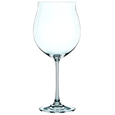 Nachtmann Vivendi Set of 4 Pinot Noir Glasses, 30-Ounce