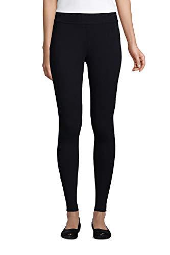 (35% OFF Deal) Women's Starfish Mid Rise Knit Leggings – MEDIUM BLACK $25.96