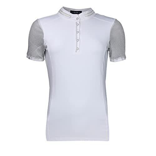 Cavallo - Panita, Damen Turniershirt Gr. 42 Farbe: Weiß