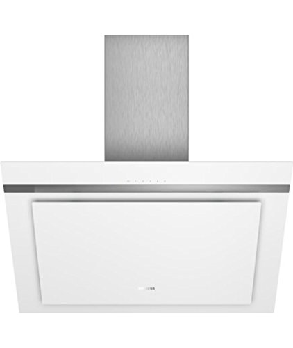 Hotte decorative murale Siemens LC87KHM20 - Hotte aspirante Pan incliné - largeur 79 cm - Débit d'air maximum (en m3/h) : 680 - Niveau sonore Décibel mini. / maxi. (en dBA) :  48 / 65