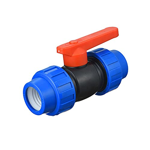 para PE Pipe T Piece Válvula de bola Tornillo Conexión Abrazadera Conector Acoplamiento