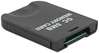 8MB Memory Card for Game Cube GC (Black) + Worldwide free shiping