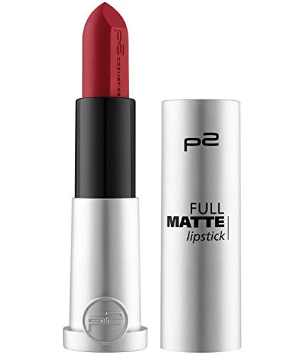 p2 cosmetics Full Matte Lippenstift Lipstick 080, 5 g (010 spread knowledge)
