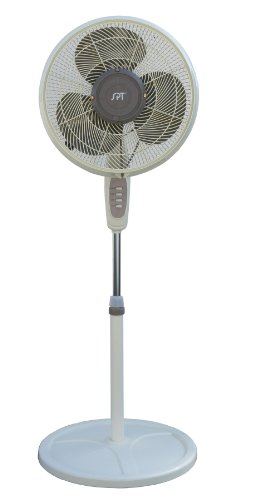 SPT SF-1666M: 16' Oscillating Misting Fan