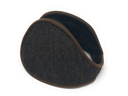 Realkontor Ohrenwärmer mit Innenfell Ohrenschützer Modell: Ohrenschmeichler, braun, Einheitsgröße