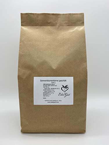 Sonnenblumenkerne 2,5 kg geschält Bäcker Qualität vegan rohkost 2500g