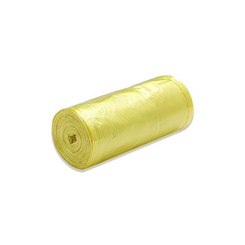 Mdsfe Home Grote vuilniszakken, wegwerp, dikke vuilniszak, keuken, zwart, kunststof opbergtas, badkamer reinigingsmiddel a182 Yellow-A182
