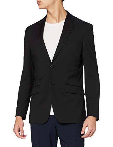 find. Chaqueta de Vestir de Corte Estándar Hombre, Negro (Black), 58R, Label: 48R