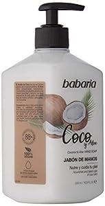 Babaria - Jabón De Manos de Coco&Aloe, 500 ml