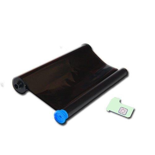 Mevalon-Produkte kompatibler Inkfilm / Inkfoil ersetzt Philips PFA351 / PFA-351 / PFA 351 / PFA352 / PFA-352 / PFA 352 / geeignet für Philips Faxgerät Magic 5 / Magic 5 Basic / Magic 5 Eco / Magic 5 Voice / PPF 631 / 632 / 636 / 650 / 675 / 676 / 685 / 695 Kapazität 140 Seiten inkl. Chip