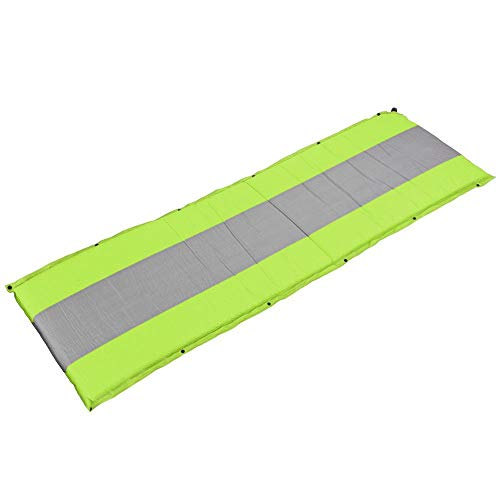 Bicaquu High-elastic Sleeping Cushion, Moisture-proof Fit for 1-2 Persons Automatic Inflatable Air Mattress Sleeping Mattress, for Camping Trips Picnics(green)