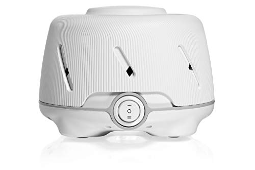 Marpac Dohm (White/Gray) | The Original White Noise Machine | Soothing Natural Sound from a Real Fan | Noise Cancelling | Sleep Therapy, Office Privacy, Travel | For Adults & Baby | 101 Night Trial