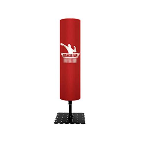 YAN QING SHOP Haushalt Boxen Boxsack Vertikal Tumbler Boxsack Innen Erwachsene Fitnessgeräte (Farbe : Rot)