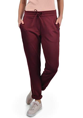 DESIRES Heaven Damen Jerseypants Sweatpants Jogginghose Mit Taschen, Größe:XL, Farbe:Wine Red (0985)