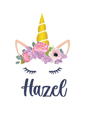 Hazel: Personalized Name Lined Journal Diary Notebook 120 Pages, 6