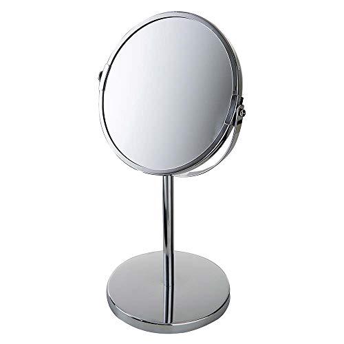 Espelho de Aumento Dupla Face Pedestal, Mor