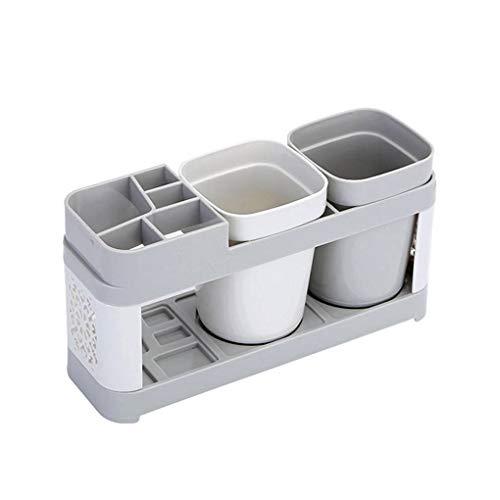 Xinjieda Pareja Cepillo de Dientes Titular de Almacenamiento de baño Pasta de Dientes Caja de Enjuague bucal de la Copa de Cepillado Bastidores de Almacenamiento