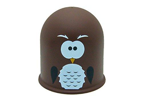 Schutzkappe Anhängerkupplung AHZV Kappe AHK Vogel Geschenkidee Uhu Eule Owl