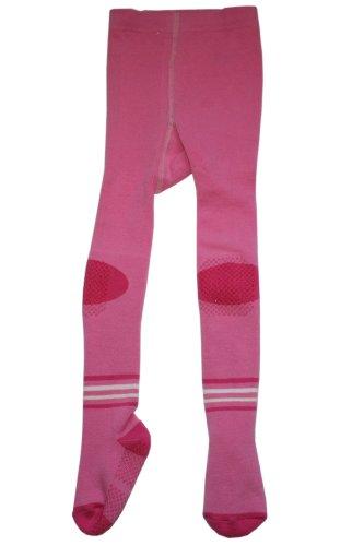 Weri ABS Collants pour enfants anti-glissement, Peluches: Taille: 12-18 Mois (80/86), Couleur: Rose. Prix a partir du fabricant.