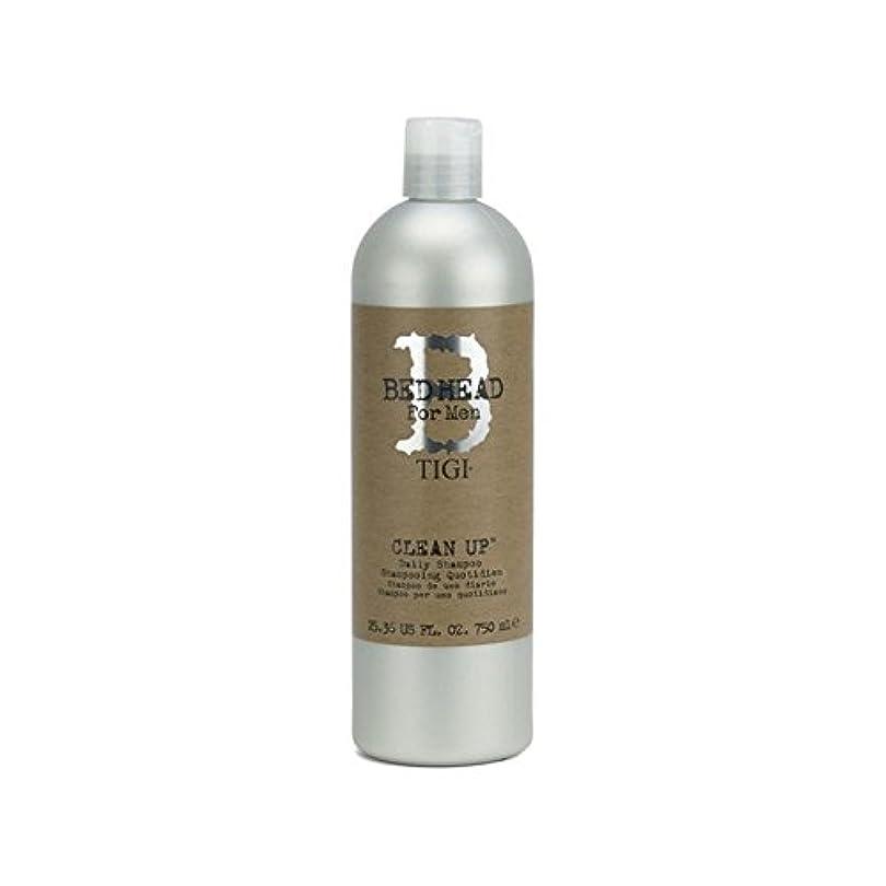 ましい年金受給者抵抗するTigi Bed Head For Men Clean Up Daily Shampoo (750ml) (Pack of 6) - 毎日シャンプーをクリーンアップする男性のためのティジーベッドヘッド(750ミリリットル) x6 [並行輸入品]
