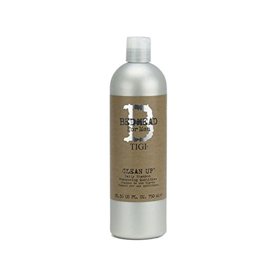 パパ枯渇平和なTigi Bed Head For Men Clean Up Daily Shampoo (750ml) - 毎日シャンプーをクリーンアップする男性のためのティジーベッドヘッド(750ミリリットル) [並行輸入品]