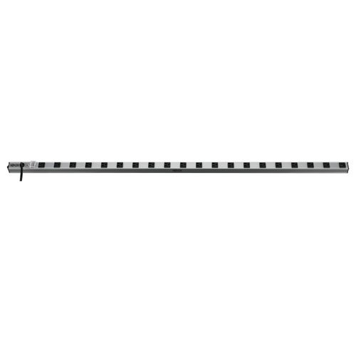 Tripp Lite 20 Outlet Bench & Cabinet Power Strip, 60 in. Length, 15ft Cord with 5-15P Plug, (PS6020)