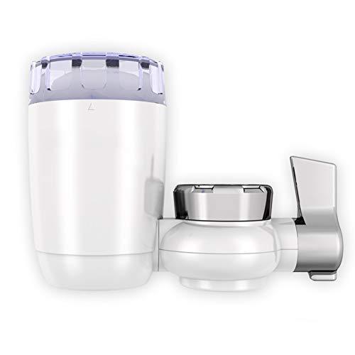 Kraanfilter Huishoudelijke keukenkraan Waterfilter Kraan Waterzuiveraar 8-laags zuivering Keramiek Verwijder zware metalen, chloor en fluoride Geschikt voor de meeste kranen Gezond drinkwater