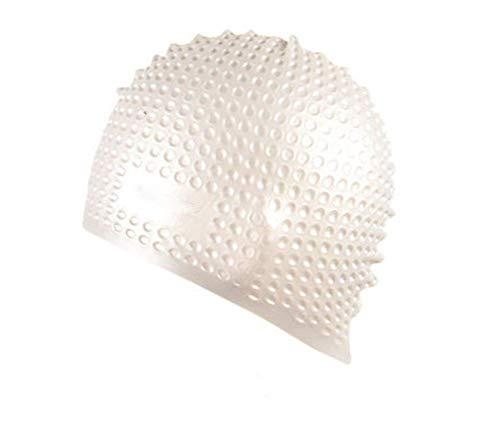 Más ajustada,más eficiente para mantener el cabello seco y evitar la entrada de agua. Fabricado con siliconas deúltima generación,súper resistente al agua.En comparación con el látex,no sólo es inofensivo,sino también amistoso con la piel.Apenas pued...