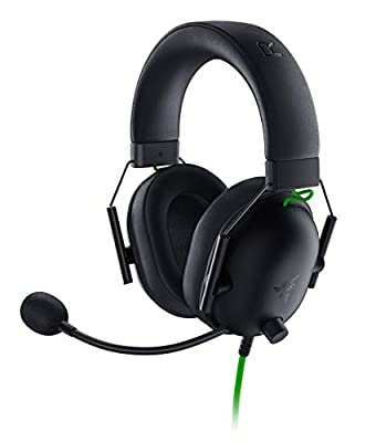 Razer Blackshark V2 X - Premium Esports Gaming Headset (wired headphones with 50mm driver, noise reduction for PC, Mac, PS4, Xbox One and Switch) by Razer Inc.