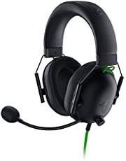 Razer BlackShark V2 X Gaming Headset, 7.1 Surround Sound Capable, 50mm Drivers, Memory Foam Cushion, for PC, PS4, Nintendo Switch, 3.5mm Headphone Jack - Classic Black - RZ04-03240100-R3M1