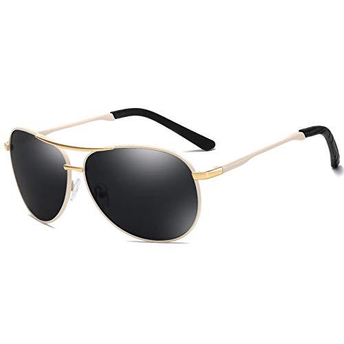 NJJX Gafas De Sol Polarizadas Clásicas Para Hombre, Gafas De Sol De Conducción De Metal, Gafas De Sol Masculinas 04