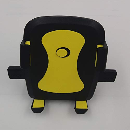 Soporte universal creativo multifunción perezoso soporte para teléfono móvil soporte de cama universal soporte perezoso plásticoX2 bicicleta amarillo