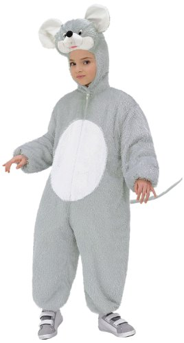 Plush Mouse 134cm (Hooded Jumpsuit with Mask)