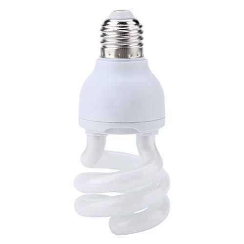 Camidy Bombilla Calefactora para Reptiles Uvb5. 0-10. 0 Lámpara de Calentamiento Solar Reptil Luz Solar para Terrario de Serpiente 220-240V