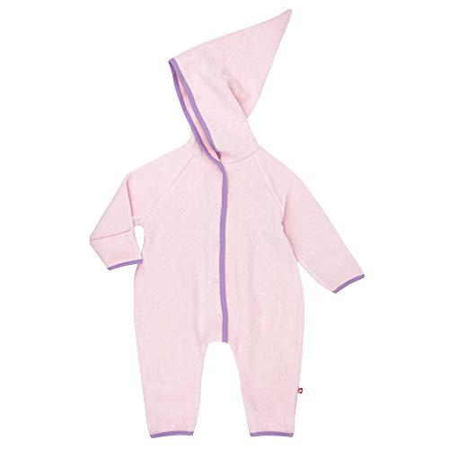 Zutano Cozie Fleece Elf Romper, Baby Pink, 3M