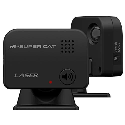 ユピテル レーザー探知機 SUPER CAT LS10 長距離&広範囲探知エスフェリックレンズ搭載 誤警報低減機能 ユピテル製レーダー探知機接続対応 コンパクト設計 日本製 Yupiteru