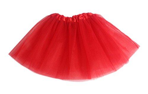 DELEY Las Niñas de Ballet de la Princesa Partido de la Falda de Tul Tutú Vestido de la Danza