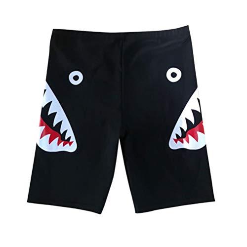 Mankoo Herren Badehose Block Swim Shorts Badeshorts, Männer-Badehose, Haifisch Bedruckte Männer Kordelzug Atmungsaktive Nylon Spandex Hose Shorts Tauchen Surfen