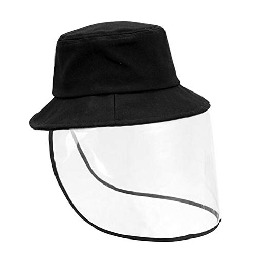 FODSLR Anti-Spitting Protective Hat, Full-face Protective Cap for Men and Women, Anti-Fog, Anti-saliva, Windproof Dustproof