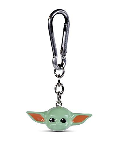 Horror-Shop Star Wars Baby Yoda 3D Schlüsselanhänger