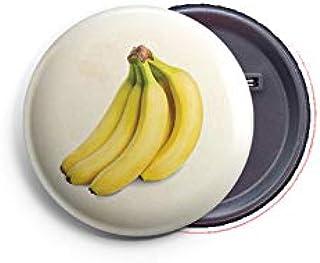 AVI Regular Size Fridge Magnet Beige Banana Fruit for Kitchen 58mm Metal MR8002303
