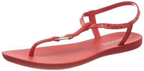 Ipanema Damen Charm VII Sand FEM T-Spangen Sandalen, Mehrfarbig (Red/Red 8543.0), 40 EU