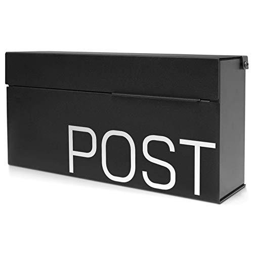 Wilson Mailboxes Modern Mailbox (Matte Black)