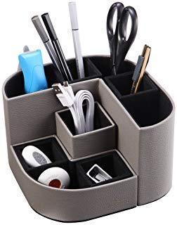 Vlando VPACK Magnet Desk Organizer Pen Holder - Office Supplies Desktop Stationery Gadgets Holder...