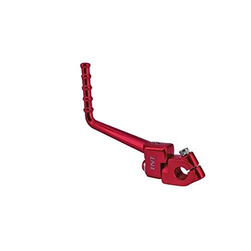 Tnttu 090556B - Adattatore pedale di avviamento AM6, in alluminio anodizzato, colore: Rosso