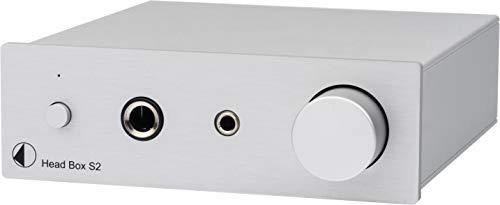 Pro-Ject Head Box S2 - Amplificador para auriculares (color plateado