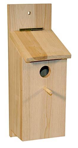 Kit de caja nido para montar 36 x 12 x 14cm, para páridos