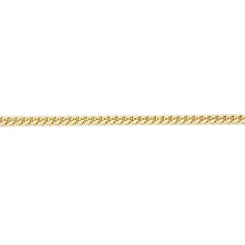 K18 18金 喜平ネックレス 2面カット 10g 50cm 造幣局検定マーク 刻印入り ユニセックス 喜平 チェーン